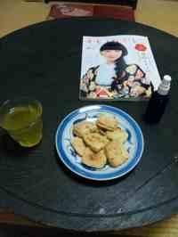 クッキーと着物雑誌