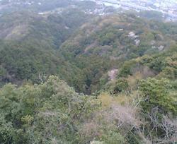 天拝山→筑紫野市