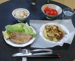 今晩の夕食 08.04.24