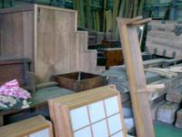 各種木材家具