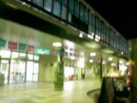 夜の佐賀駅前