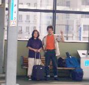 JR今治駅【いまばりえき】にて